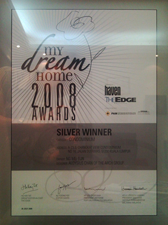 Haven, The Edge, My Dream Home Awards